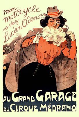 Painting - Grand Garage by Gary Grayson