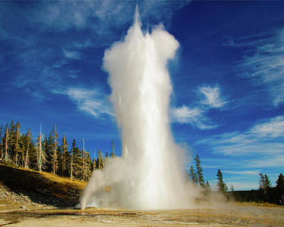 Photograph - Grand Geyser by Norman Hall
