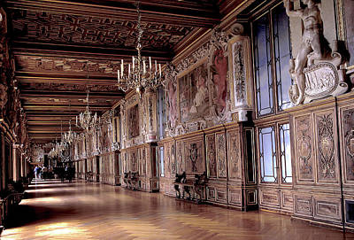 Global Design Shibori Inspired - Grand Hall in Fontainebleau in France by Carl Purcell