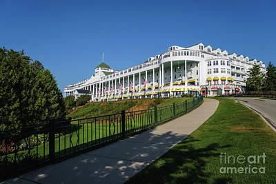 Photograph - Grand Hotel Mackinac Island by Rachel Cohen