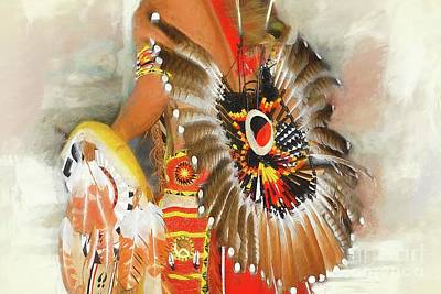 Photograph - Grand Prairie Texas Pow-wow by Dyle Warren