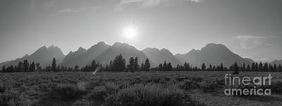 Surrealism Royalty Free Images - Grand Teton National Park Sun Burst Royalty-Free Image by Michael Ver Sprill