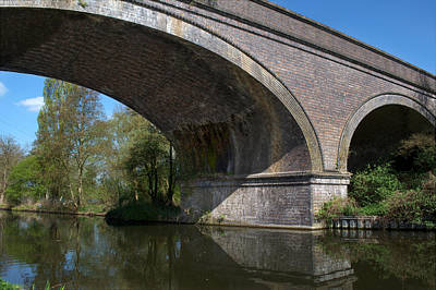 Photograph - Grand Union Canal Bridge 181 by Chris Day