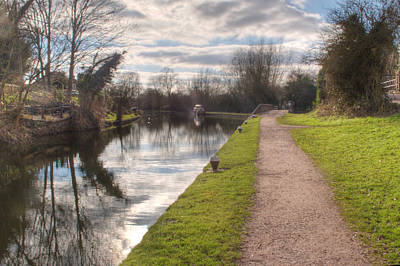 Photograph - Grand Union Canal Rickmansworth by Chris Day