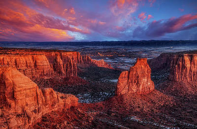 Photograph - Grand View Sunrise by Darren White