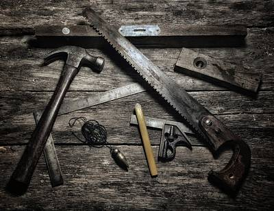 Photograph - Granddad's Tools by Mark Fuller