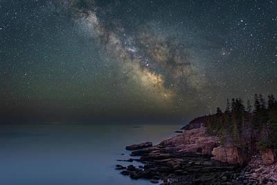 Photograph - Granite Coast by Michael Blanchette