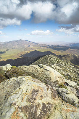 Photograph - Granite Mountain Summit View by Alexander Kunz