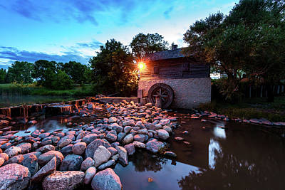 Photograph - Grant's Old Mill by Nebojsa Novakovic