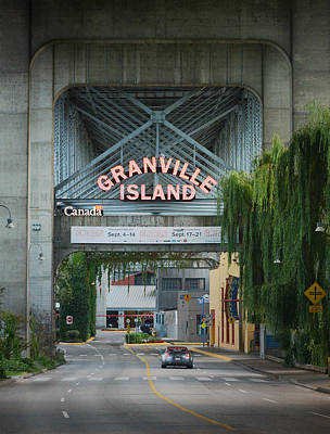 Granville Island Photograph - Granville Island by Fraida Gutovich