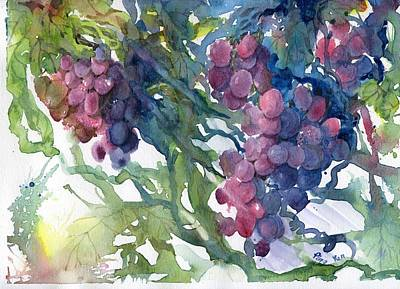 Painting - Grape by Ping Yan
