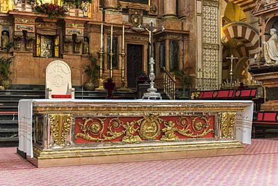 Great Mosque Altar - Cordoba Spain Art Print