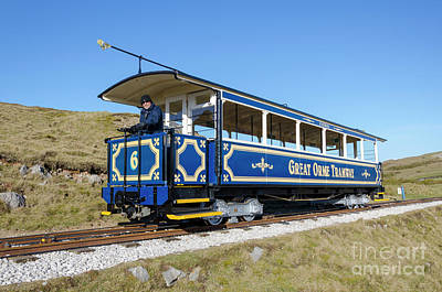 Photograph - Great Orme Tram by Steev Stamford