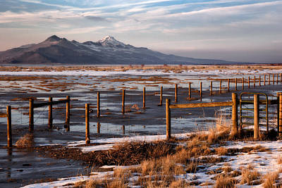 Photograph - Great Salt Lake by Utah Images