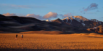 Photograph - Great Sand Dunes Np by John McArthur