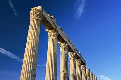 Greek Roman City Of Laodicea. Denizli, Turkey Art Print
