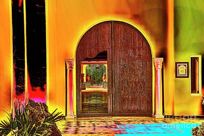 Photograph - Green Door by Rick Bragan