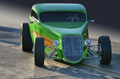 Photograph - Green Machine by Bill Dutting