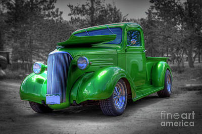 Photograph - Green Machine by Tony Baca