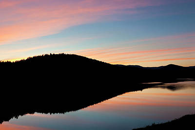 Photograph - Green Mountain Twilight by Alan L Graham