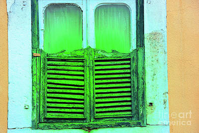 Photograph - Green Shutters by Rick Bragan
