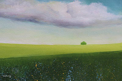 Painting - Green Valley by Alicia Maury