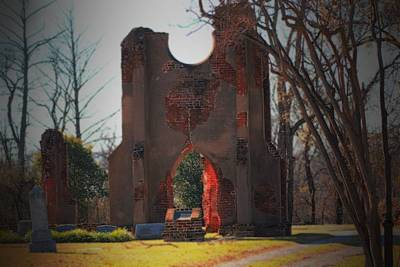 Photograph - Greenfield Cemetery by Karen Wagner