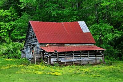 Photograph - Green's Barn by Kathryn Meyer