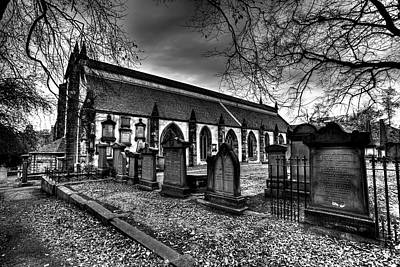 Photograph - Greyfriars Kirk Church Edinburgh by David Pyatt
