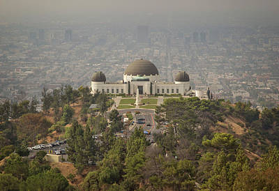 Photograph - Griffith Observatory by Ricky Barnard