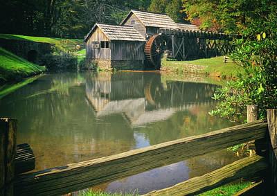 Photograph - Grist Mill by Steve Archbold
