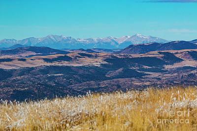 Photograph - Grouse Mountain And Sangre De Cristo by Steve Krull