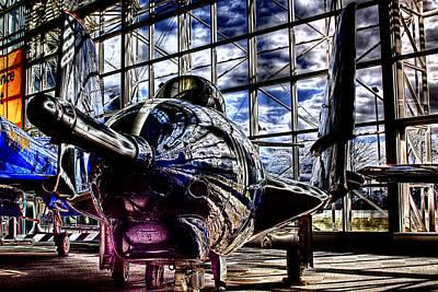 Photograph - Grumman F9f-8 Cougar by David Patterson