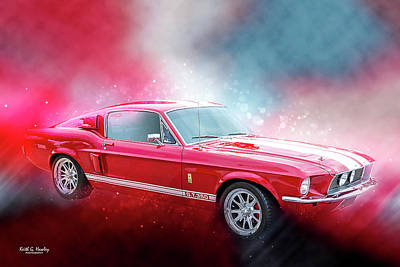 Photograph - Gt-350 by Keith Hawley