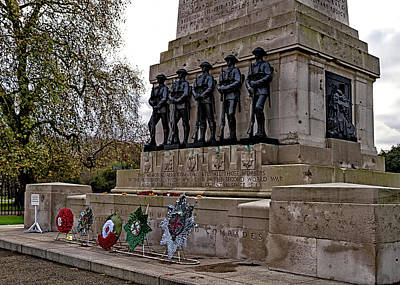 Photograph - Guards Memorial by Shirley Mitchell