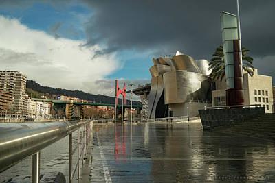 Photograph - Guggenheim Museum Bilbao Spain by Henri Irizarri