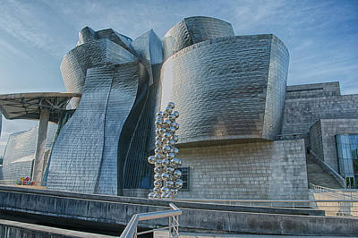 Photograph - Guggenheim Museum Bilbao Spain by James Hammond