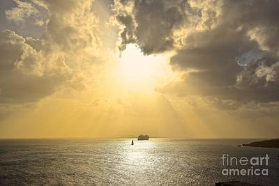 Photograph - Guiding Light by Eve Spring