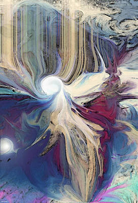 Digital Art - Guiding Light by Linda Sannuti