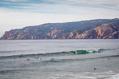 Surfing Photograph - Guincho Beach by Carlos Caetano