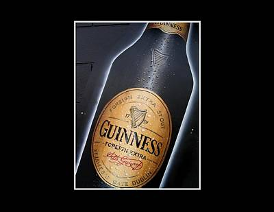 Painting - Guinness  by Barbara Marcus