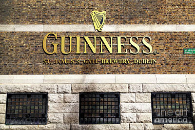 Photograph - Guinness Brewery by John Rizzuto