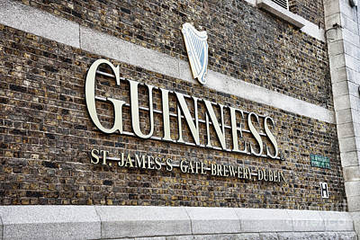 Photograph - Guinness Storehouse In Dublin Ireland by Vizual Studio
