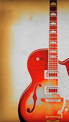 Photograph - Guitar Art by Steve McKinzie
