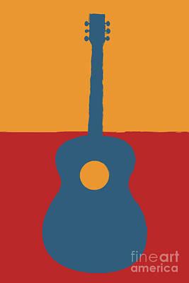 Digital Art - Guitar by Benjamin Harte