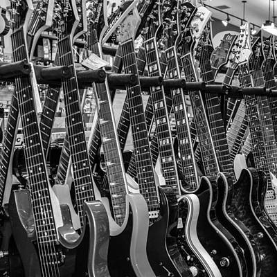 Photograph - Guitars Collection  by Dany Lison
