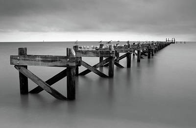 Photograph - Gulf Coast Pier by Eric Foltz