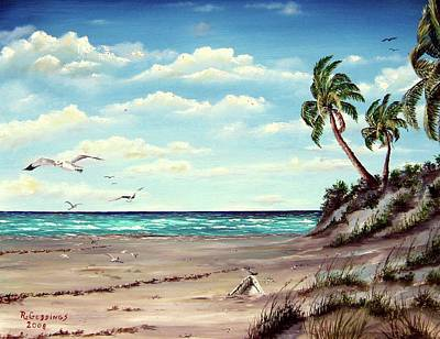 Painting - Gulf Dunes by Riley Geddings