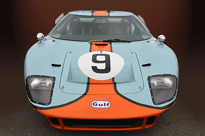 Photograph - Gulf G T 40 by Bill Dutting