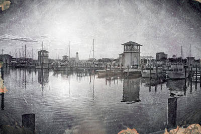 Gulfport Harbor  Art Print